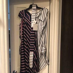 Monse stripped dress-New with tags-size 2 (US)